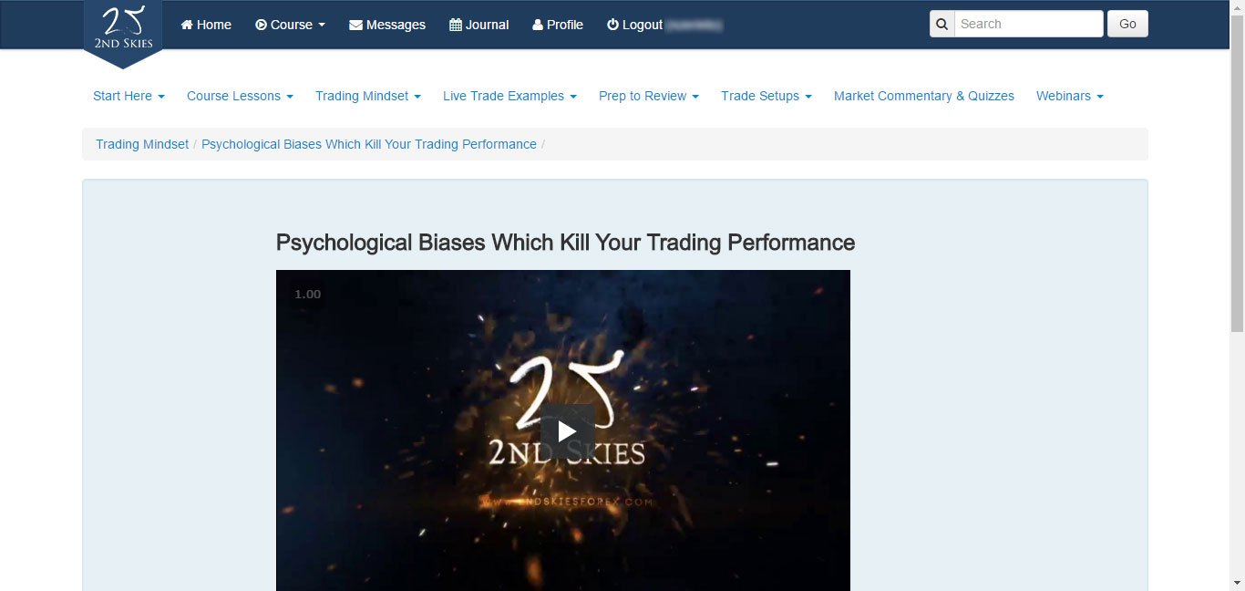 2ndSkiesForex Trading Mindset Video